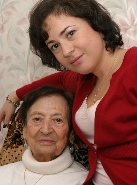Inna with Grandma